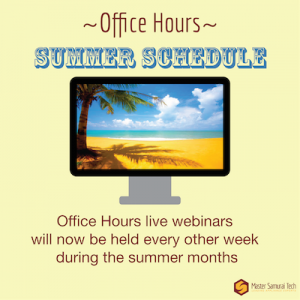 Office Hours Summer smaller